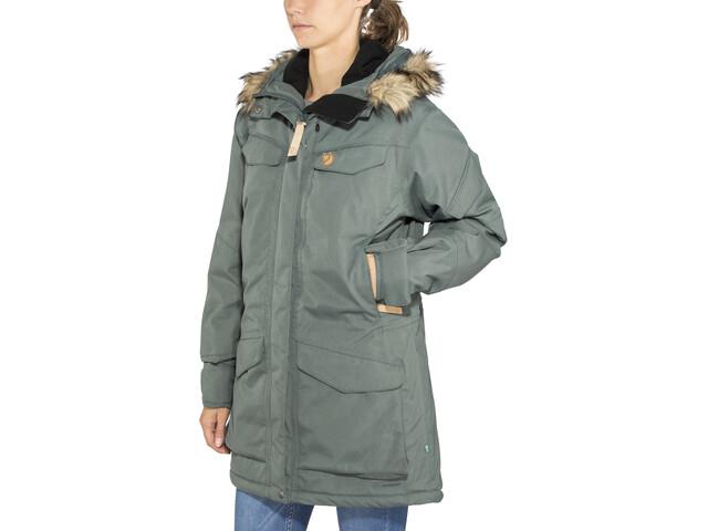 a3ce6414 Fjällräven Nuuk Parka Damer, dusk | Find outdoortøj, sko & udstyr på ...